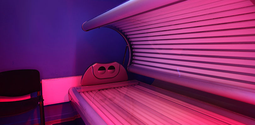 Avoid Tanning Beds and Sun Lamps